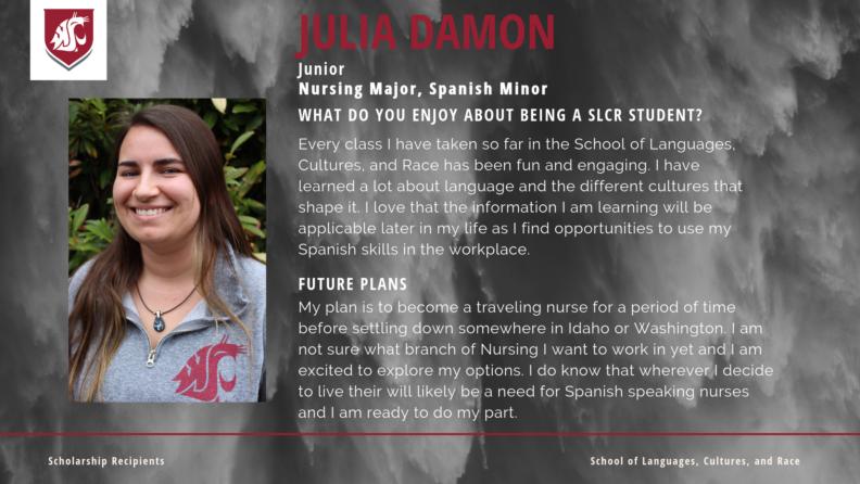 """Julia Damon."""
