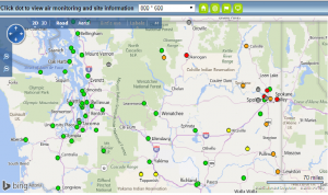 Washington Air Monitoring