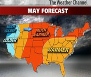 may 2013 stripe rust weather forecast