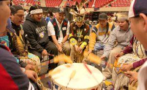 Pow-wow drums