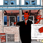 Devil comic