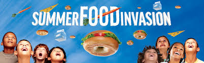 Summer Food Invasion Logo