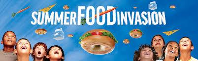 Summer Food Invasion Logo