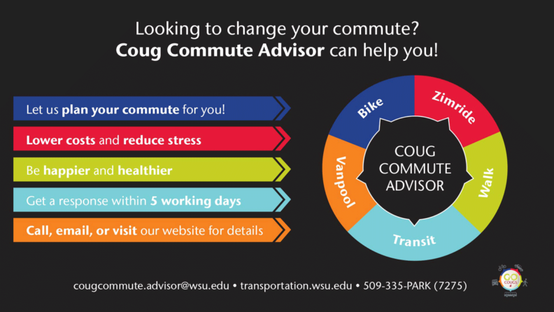 Coug Commute Advisor can help!