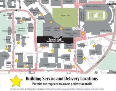 Parking Maps | Transportation Services | Washington State ...