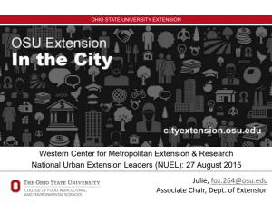 OSU in the city Slide