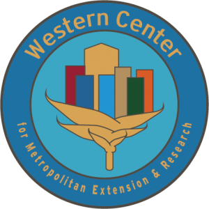 Logo: Western Center for Metropolitan Extension and Research
