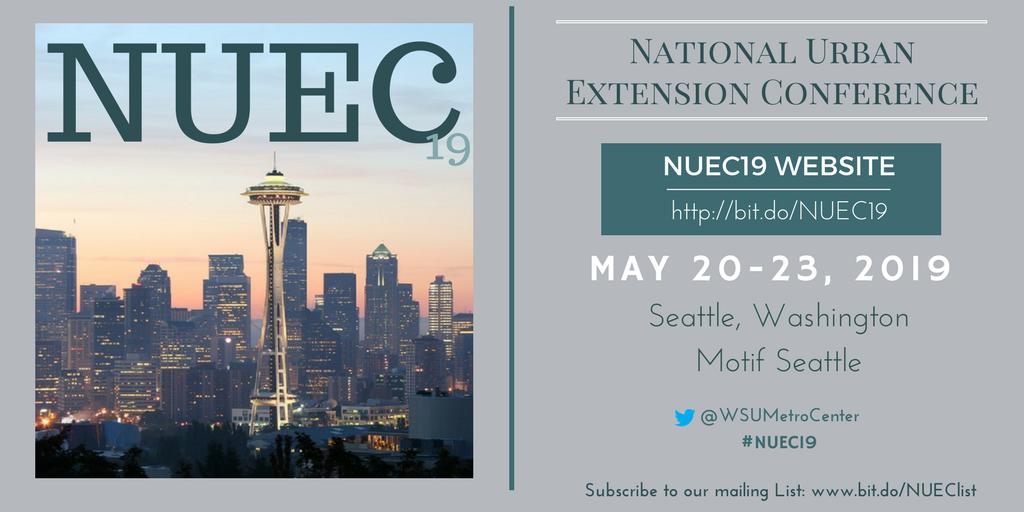NUEC19 flyer