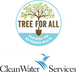 Tree for All & Clean Water Services logo