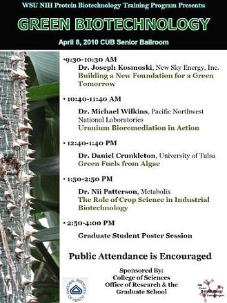 2010 Symposium Flyer
