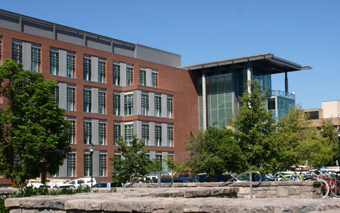 Biotechnology Life Services Building