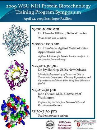 2009 Symposium Flyer