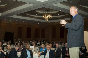 Dr. David Domke speaking during the Ruckleshaus Center Chairman's Circle Luncheon