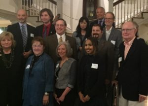 group photo of the leadership, faculty, staff and students affiliated with the Ruckelshaus Center