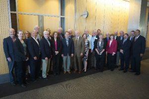 A group photo of the Advisory Board.