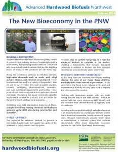 The New Bioeconomy of the Pacific Northwest