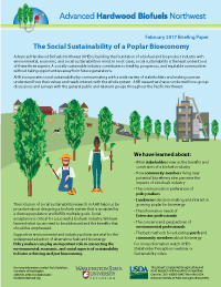 The Social Sustainability of a Poplar Bioeconomy