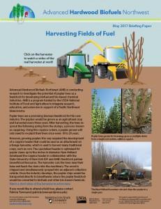 Harvesting Fields of Fuel