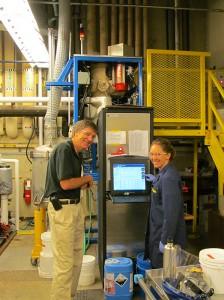 Researchers in UW lab