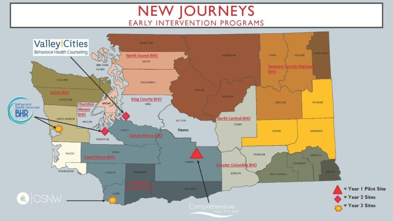 New Journeys Map