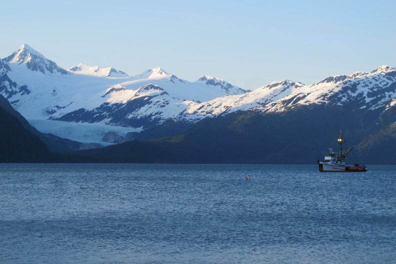 Fishing vessel in Alaska