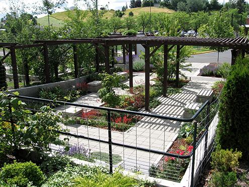 The Shade Garden from Wilson Rd