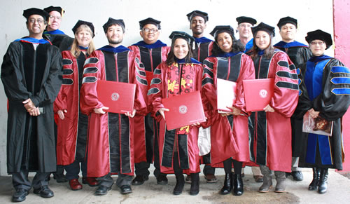 The graduating class of 2012