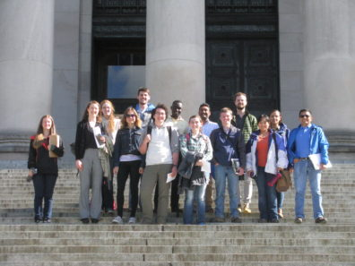 PLP 525 students at WA State Capitol Building