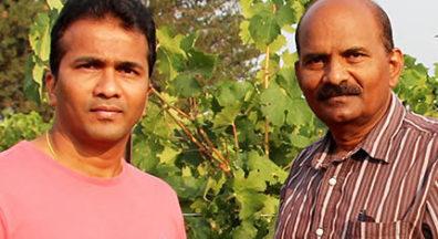 Naidu Rayapati and his former student Sridhar Jarugula