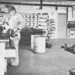 This is an image of Foreman Norval in the machine shop