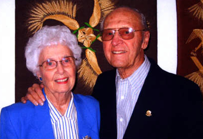 This is an image of Otto and Doris Amen.