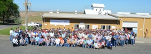 The attendees of the 2015 Field Day.
