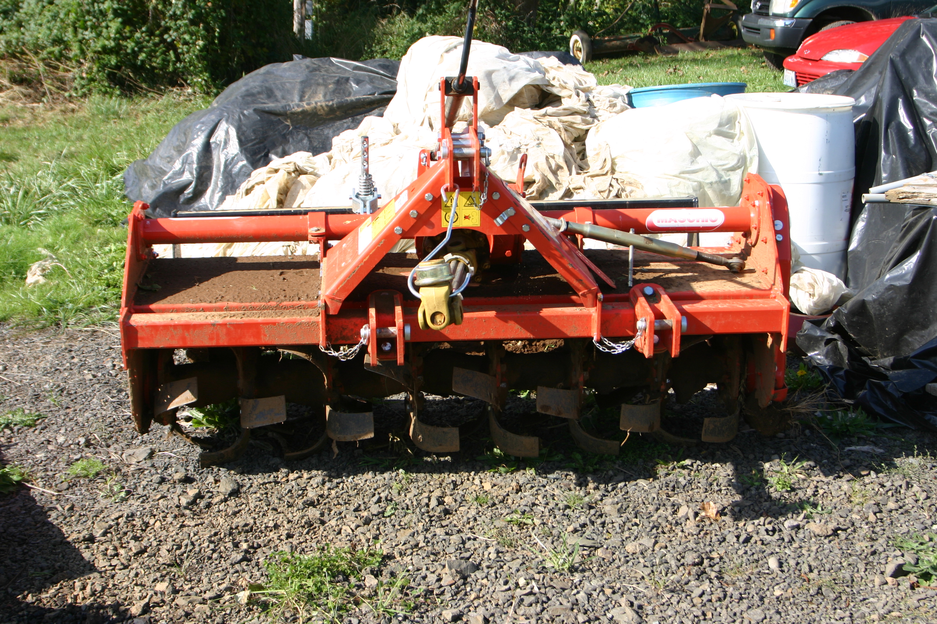 Equipment for Tilling and Cultivating   Food Systems