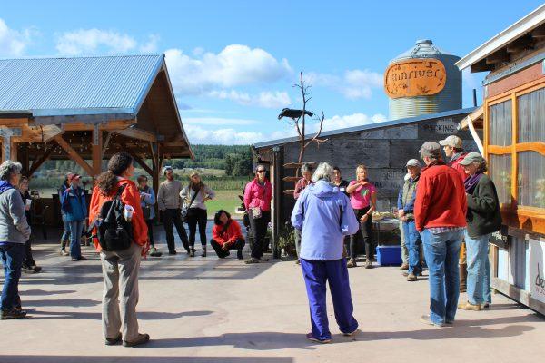 FARMWALK group gathers at Finnriver