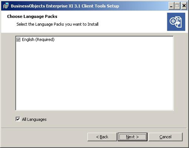 preferred language window