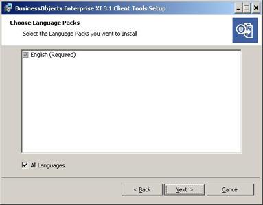 preferred language window