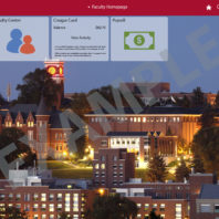 new my WSU Fluid Interface Faculty homepage example