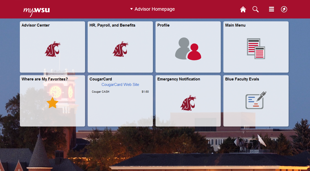 new my WSU fluid interface advisor page