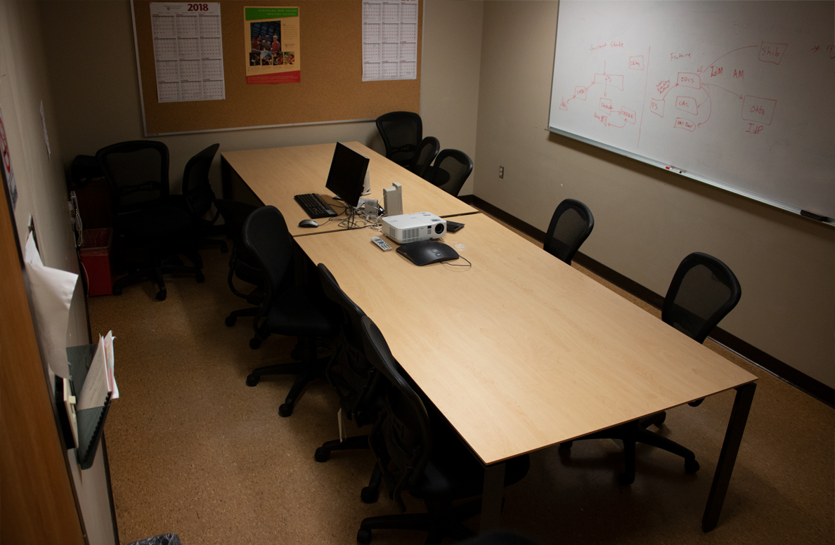 Information technology building conference room 3050