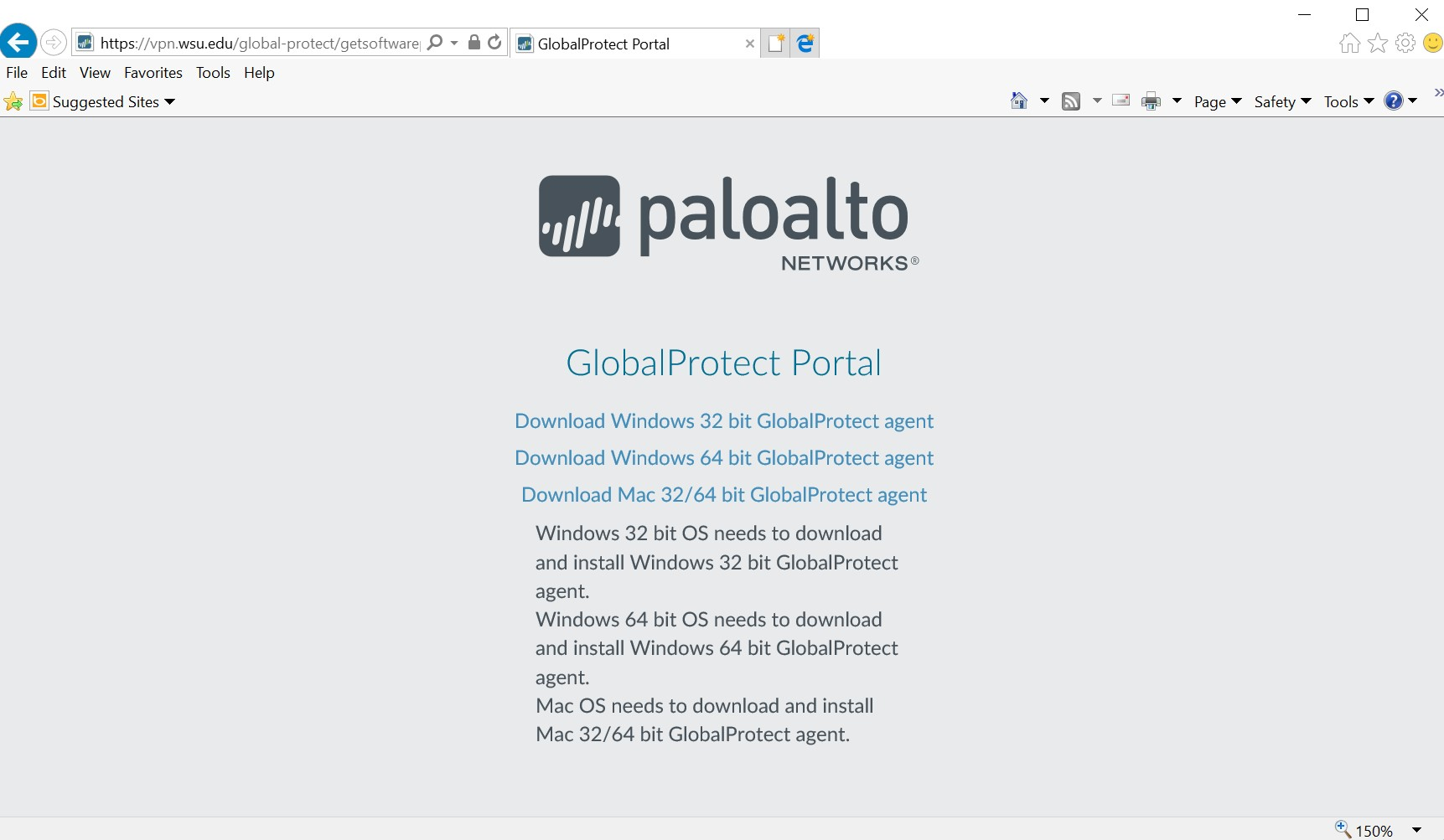 Paloalto Global Protect Portal