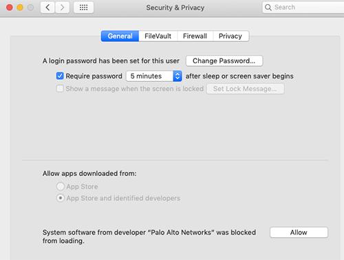 SSL VPN – Installing GlobalProtect VPN – Mac/Linux