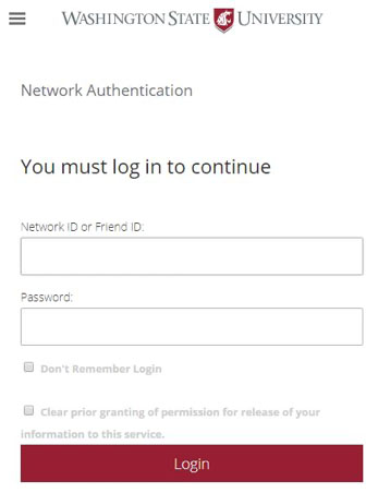 Example login prompt after May 11