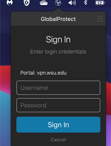 global protect sign in