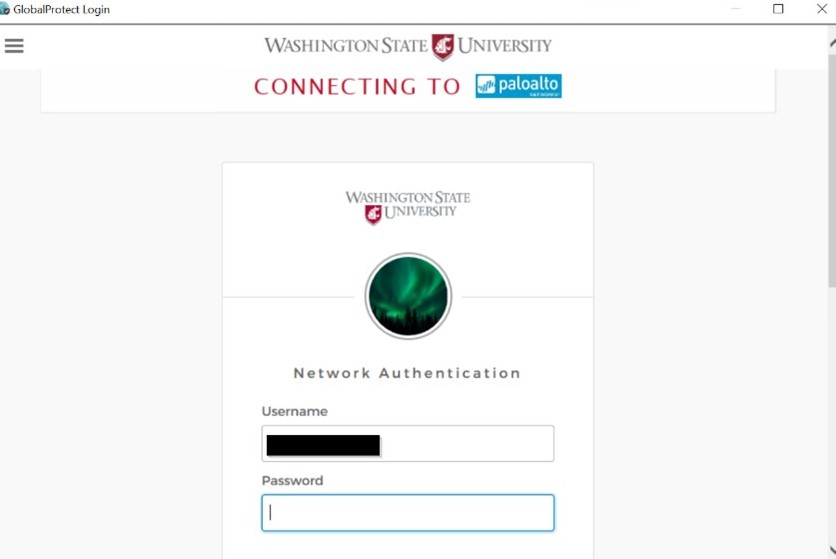 global protect network authentication