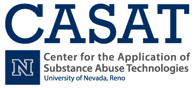 Logo for the Center for the Application of Substance Abuse Technologies at the University of Nevada Reno