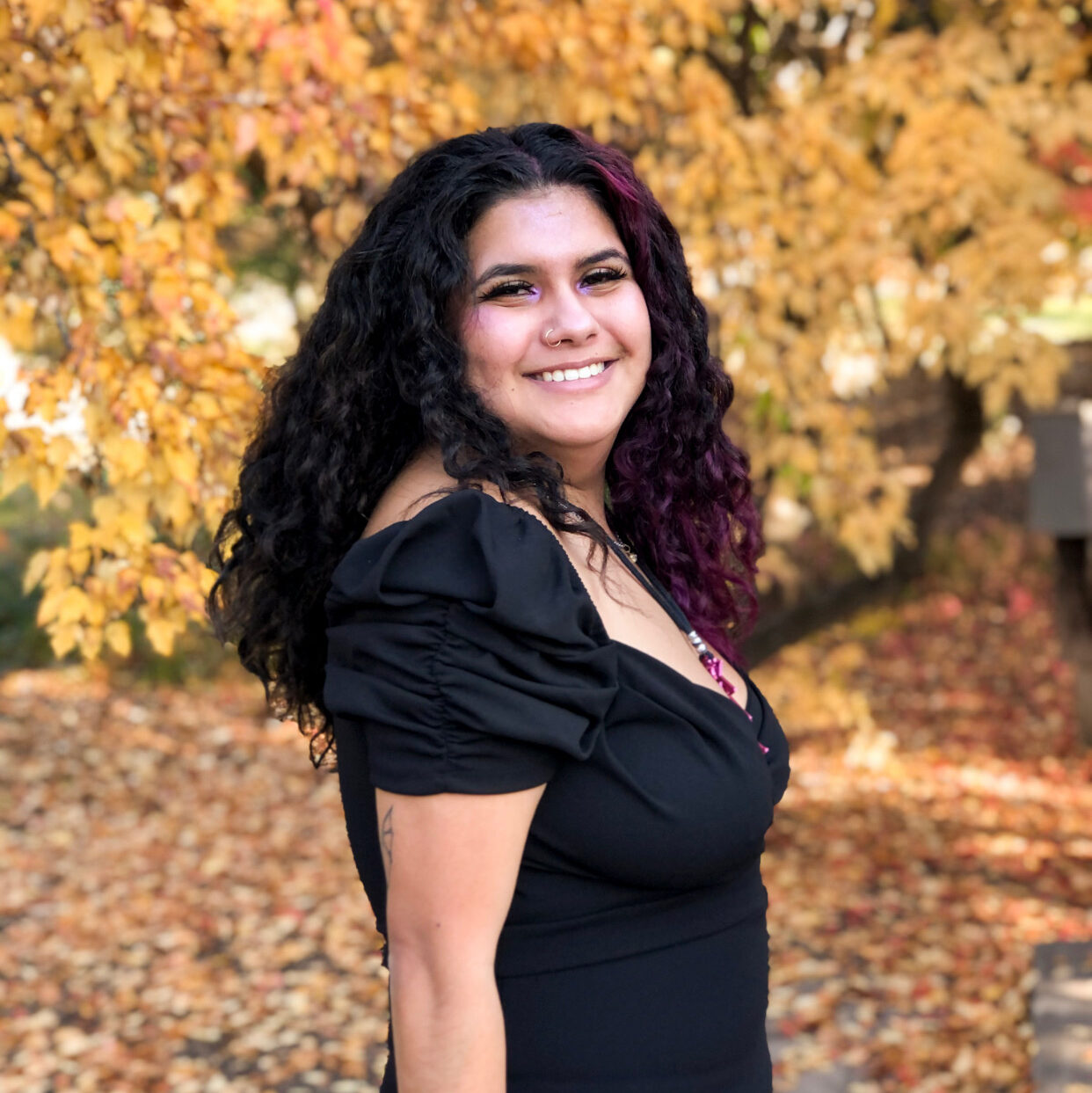 Undergraduate Research Assistant Elvia Garcia