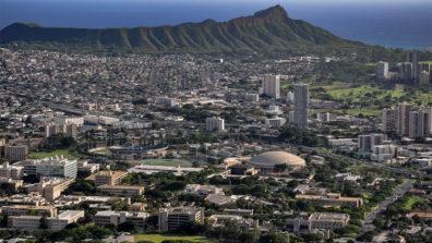 Hawaii aerial view