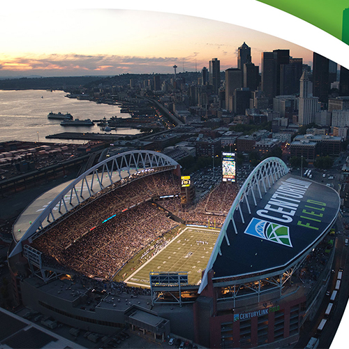 Century Link Field - Seahawks home field