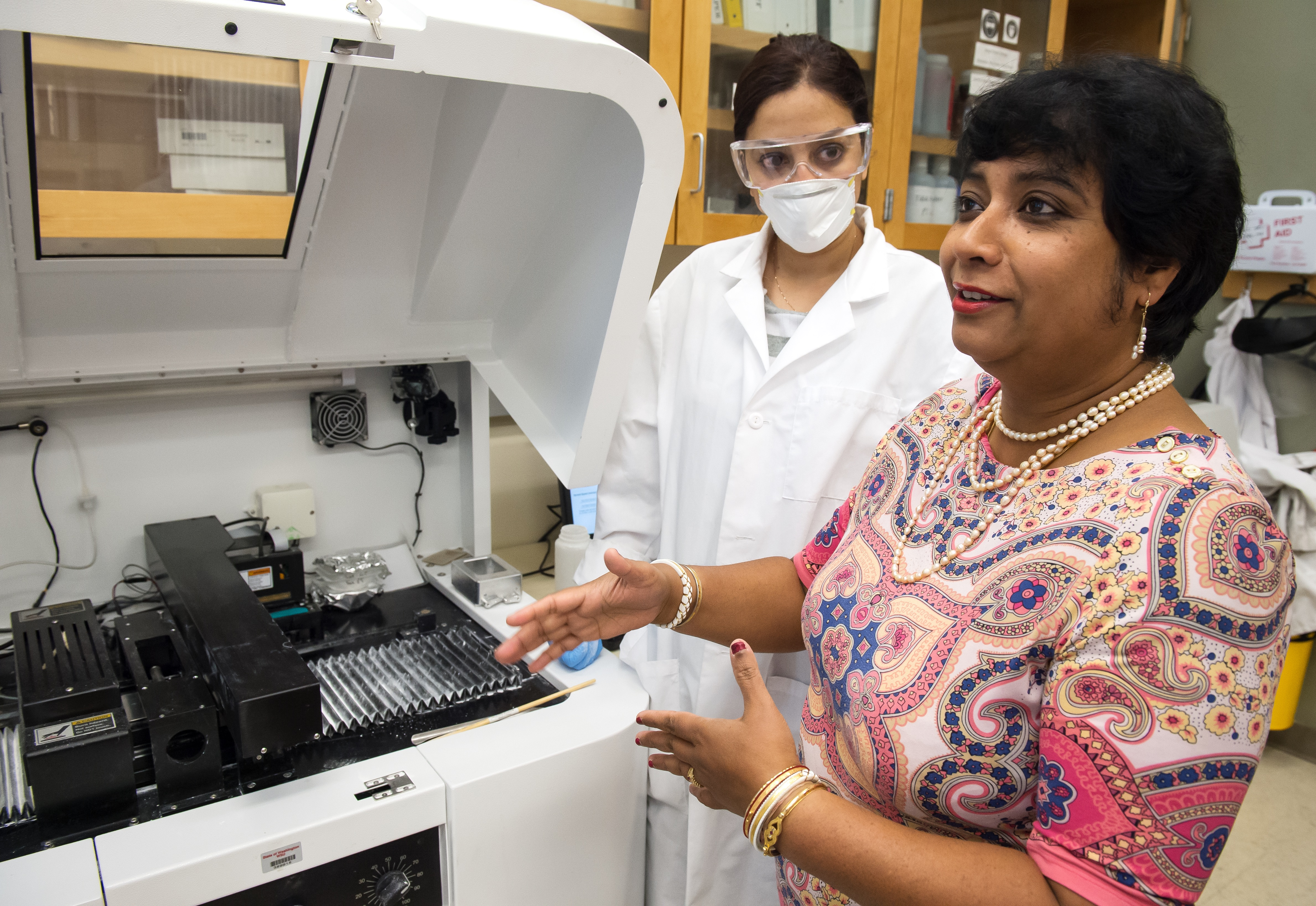Science in your bones! Susmita Bose and the biomechanical 3-D printing she and her graduate students are researching.