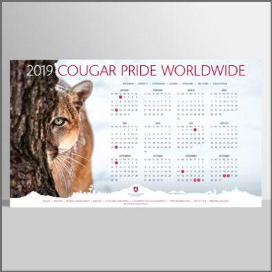 2019 WSU Photo Calendar